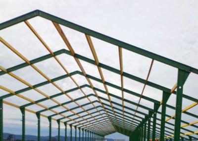 Bâtiment d'élevage pour 58 400 Poulettes – Drôme