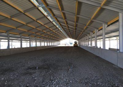 Bâtiment d'élevage avicole pour 2 x 12 000 poules pondeuse bio – Drôme